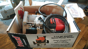 Freud 3 & 1/4HP Variable Speed Plunge Router
