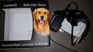 Garmin. Deluxe. Bark Collar. Used only once!