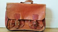 Très beau Sac en Cuir de Veau - Leather made Briefcase -