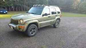 Wanted, 2003-2005 Jeep Liberty front grill