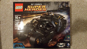 Brand new Lego Batman Tumbler