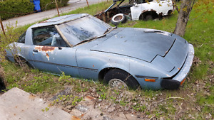 1980 Mazda RX7 For Parts or Restoration