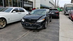 Damaged 2009 Lincoln MKS for sale