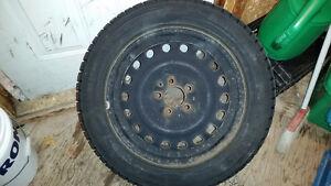 Dunlop 255 55 R17 Pneus avec Rim/ Tires with Rims