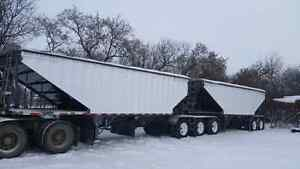 2008 Load King super b grain trailer