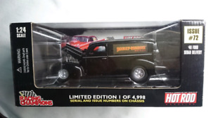 RACING CHAMPIONS 40 FORD SEDAN DELIVERY HARLEY DAVIDSON DIECAST