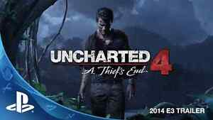 Jeux Uncharted 4 : A Thief's End PS4