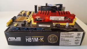 ASUS H81M-K Micro-ATX H81 Motherboard LGA1150..............sd