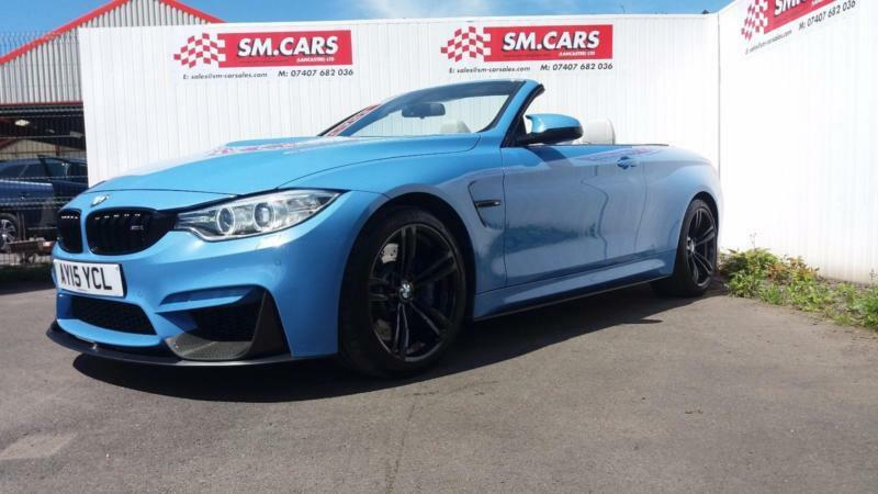 2015 15 Bmw M4 3 0 Dct 425bhp Yas Marina Blue Full Bmw Carbon Pack