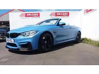 2015 15 BMW M4 3.0 DCT(425bhp)YAS MARINA BLUE,FULL BMW CARBON PACK,FULL BMW SH.
