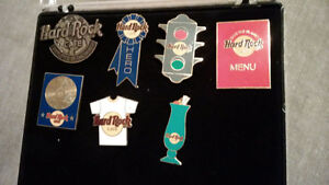 Hard Rocke Cafe Pin including staff pins also Planet Hollywood