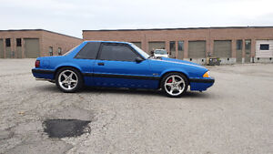 1989 fox body mustang for trade ??