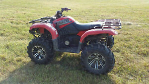 2002 Yamaha Grizzly 660, ITP wheels and tires
