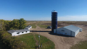 Acreage with large riding arena or shop