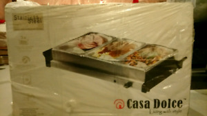 Food Warmer with 3 Trays