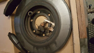 BRAKE ROTOR'S AND PADS 2012 NISSAN TITAN