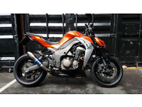 2015 Kawasaki ZR1000 Z1000 Naked Streetfighter 3622 Miles 1 Owner