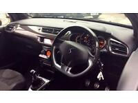 2011 Citroen DS3 1.6 HDi 110 DSport 3dr Manual Diesel Hatchback
