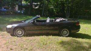 2005 Chrysler Seabring CONVERTABLE