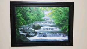 Jungle Waterfall Wall Art - $30