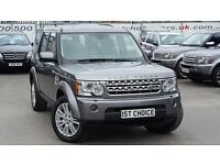 2010 LAND ROVER DISCOVERY 4 TDV6 HSE STORNAWAY GREY WITH BLACK LEATHER BIG