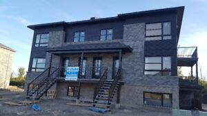 BRAND NEW - 1, 2 and 3 BEDROOM APARTMENTS - PLATEAU GATINEAU