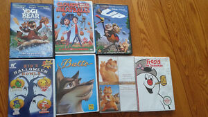 kid's dvds lot