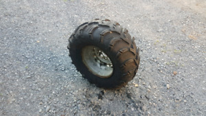 ITP Mud Lite ATV Tire and rim