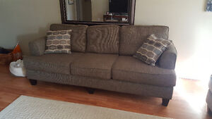 Brand new sofa and love seat.