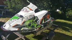 1994 Sea Doo 583 newly wrapped with cool designs
