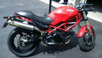 Red Hot 2007 Ducati Monster - SAFETY CERTIFIED!!!