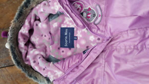 18month souris mini girls snow suit