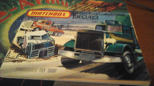 Matchbox Collectors Catalogue 1982/83