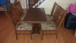 Rv dining table and chairs