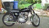 Vintage Honda CB350 plaquee, complete, tout fonctionne