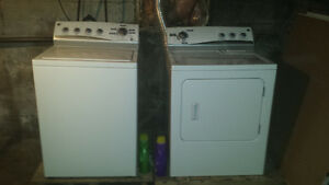 Kenmore high efficiency washer and dryer