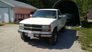 1993 K3500 Twin Turbo 6.5 Diesel