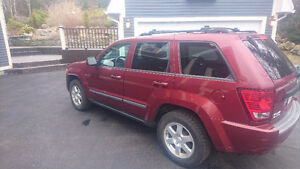 2008 Jeep Cherokee Red SUV, Crossover