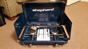 Camp stove, Shepherd - NEW NEVER USED