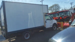 Camion cube 14 pied diesel