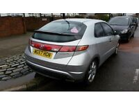 Honda civic 2.2 ictdi diesel manual silver