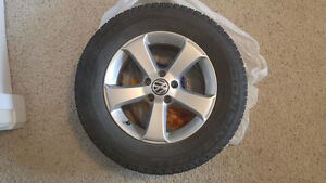 VW Rims and Winter Tires