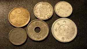 Japanese ww2 coin lot.