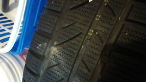 winter tires with rims. set of 4