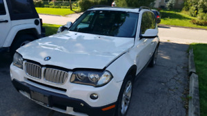 Bmw x3 2010 as is