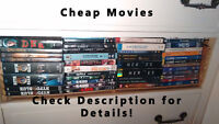 List of Movies and TV Series for sale!!