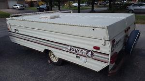 1990 Jayco 1006 deluxe pop up tent trailer