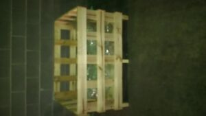 wooden crates 4x3x3 ft