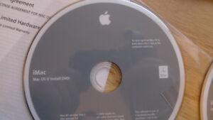 iMac Mac OS X Version 10.6.2 Install & Application Discs New .