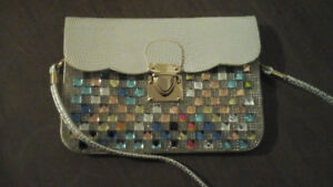 EVENING Bag, jewelry bag and sequin HAT